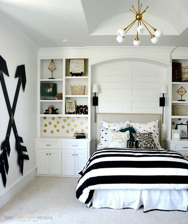 30+ Bedroom Decorating Ideas for Teen Girls - Teenager Room ...