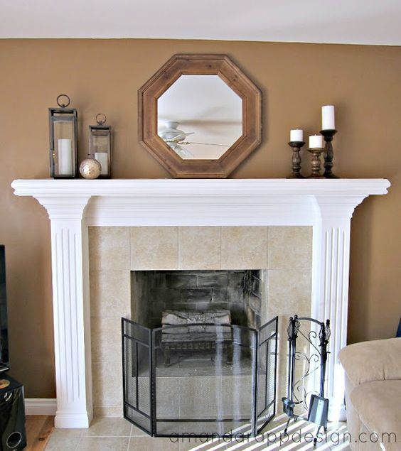 Simple Mantel Ideas: 40 Living Room Mantel Decorating Ideas That Will Blow You Away