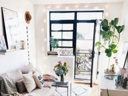 30+ Creative Small Apartment Living Room Design Ideas - Organization ...