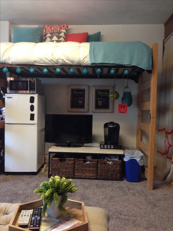 Single Dorm Room: 30 College Dorm Room Decorating Ideas (you Don't Want To Miss