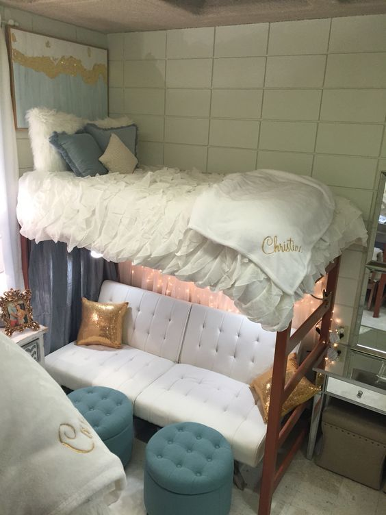Decorate Dorm Room: 30 College Dorm Room Decorating Ideas (you Don't Want To Miss