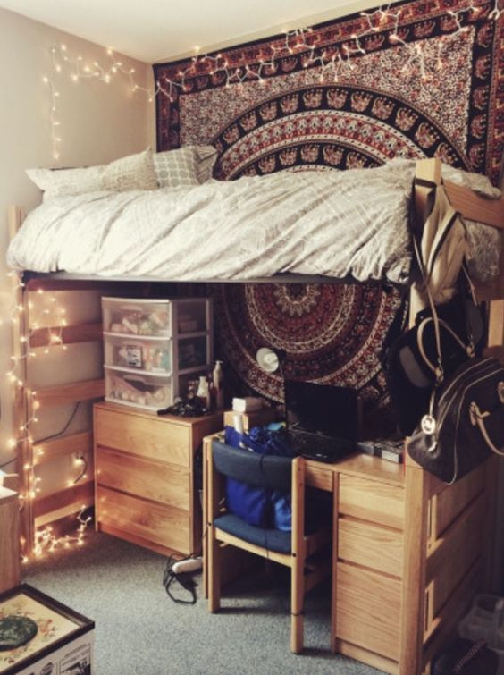 Dorm Room Decor Ideas: 30 College Dorm Room Decorating Ideas (you Don't Want To Miss