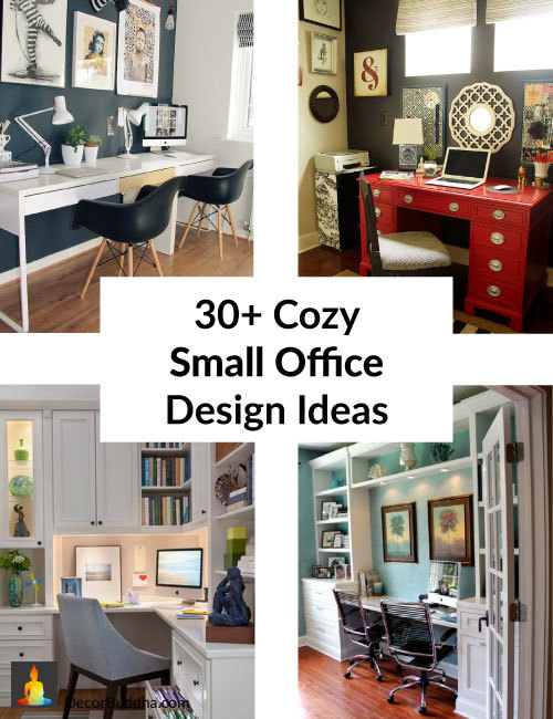 30 Cozy Small Home Office Design Inspiration Organization Ideas For Micro Offices