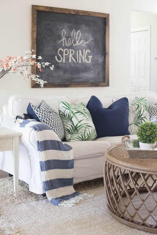 20+ Beautiful Spring Decorating Ideas for Home and Office - Indoor on halloween for bedrooms, window treatments for bedrooms, decorative lights for bedrooms, small spaces for bedrooms, christmas for bedrooms, printables for bedrooms, storage for bedrooms, design for bedrooms, diy for bedrooms, silk flowers for bedrooms, decorative pillows for bedrooms, furniture for bedrooms, home decor for bedrooms, art for bedrooms, color for bedrooms, organization for bedrooms, window seats for bedrooms,